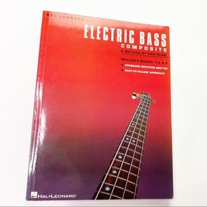 Vintage Electric Bass Book Hal Leonard Music